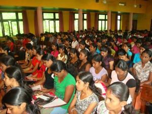 Career Guidance Program organised by the Chamber of Commerce Rathnapura